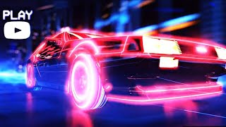 Midnight Sky Miley Cyrus Music Video with Retro Cars featuring DeLorean