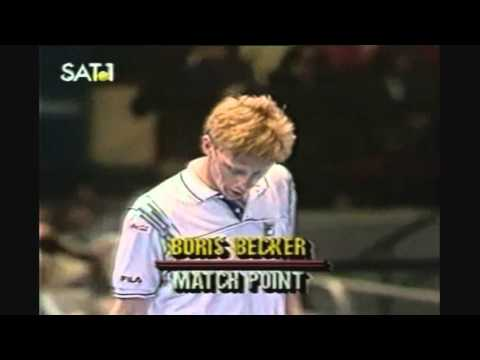 Becker vs. Lendl - incredible match-point