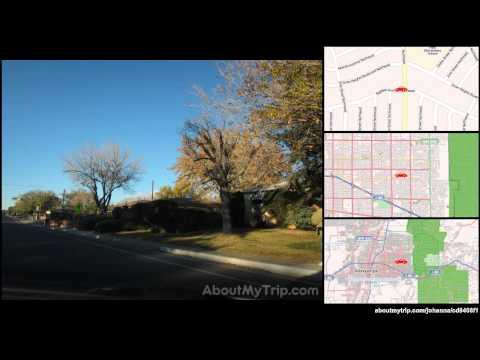 Constitution Avenue Northeast (Albuquerque, New Mexico) to Tramway Boulevard Northeast (Glenw (...)