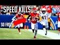 NFL Best Speed Kills Moments || HD