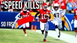 NFL Best Speed Kills Moments || HD