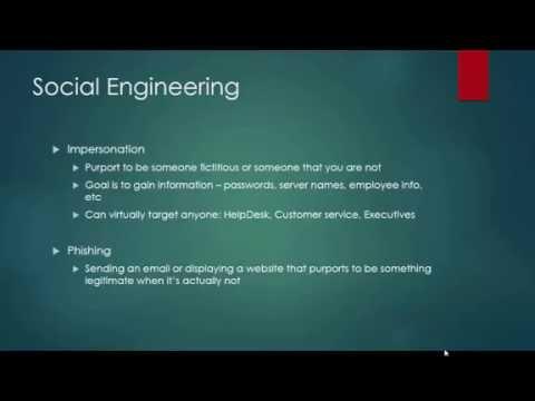 Wk 04 - Malware and Social Engineering