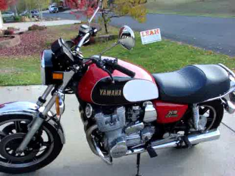 1979 Yamaha XS1100 review - YouTube