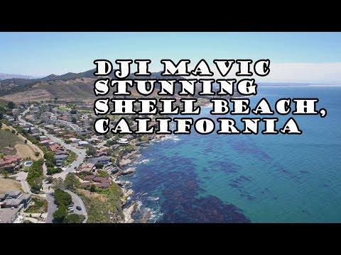 4K Ultra HD DJI Mavic Drone Shell Beach