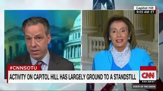 Nancy Pelosi and Jake Tapper have an irritable, From YouTubeVideos