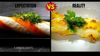 TESTING VIRAL FOOD HACKS BY 5 MINUTE CRAFT | TESTING EGG HACKS | TRYING VIRAL FOOD HACKS | FOOD FAM