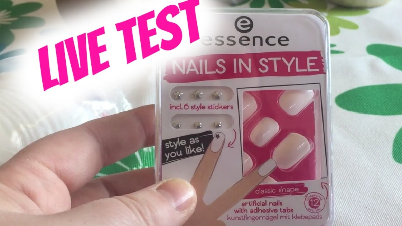 Essence Nails in Style | Live Test - YouTube