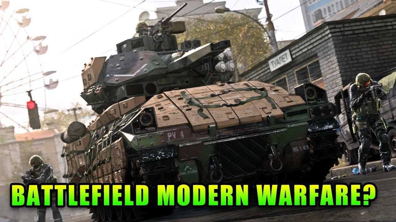 Battlefield Modern Warfare - Call Of Duty Modern Warfare Multiplayer Reveal thumbnail