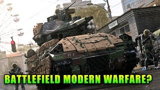 Battlefield Modern Warfare - Call Of Duty Modern Warfare Multiplayer Reveal
