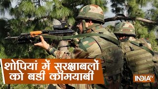 While The Encounter In Shopian Continues, Big Success To Security Forces With 2 militants Terminated