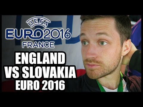 ENGLAND VS SLOVAKIA - EURO 2016 MATCH VLOG: FINAL GAME OF GROUP B! NO ROONEY, KANE OR ALLI! - #AD