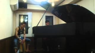 ペルシャの市場にて ピアノ西野純一 × カホン菊池亮太 セッション