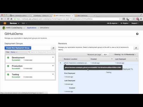 AWS CodeDeploy & GitHub Integration - Automated Software Deployment on AWS