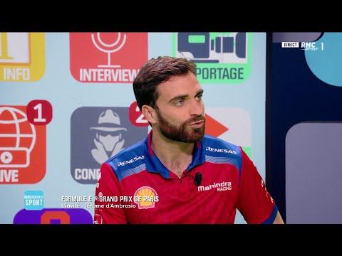 L'enthousiasme de Jérôme d'Ambrosio pour la Formule E