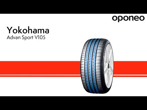 Opona Yokohama Advan Sport V105 ● Opony Letnie ● Oponeo™