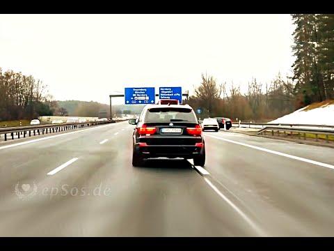 Beautiful German Highway in Germany.