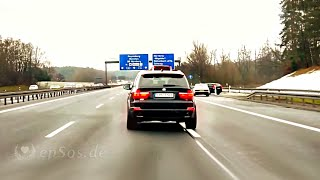 Beautiful German Highway is Autobahn in Germany