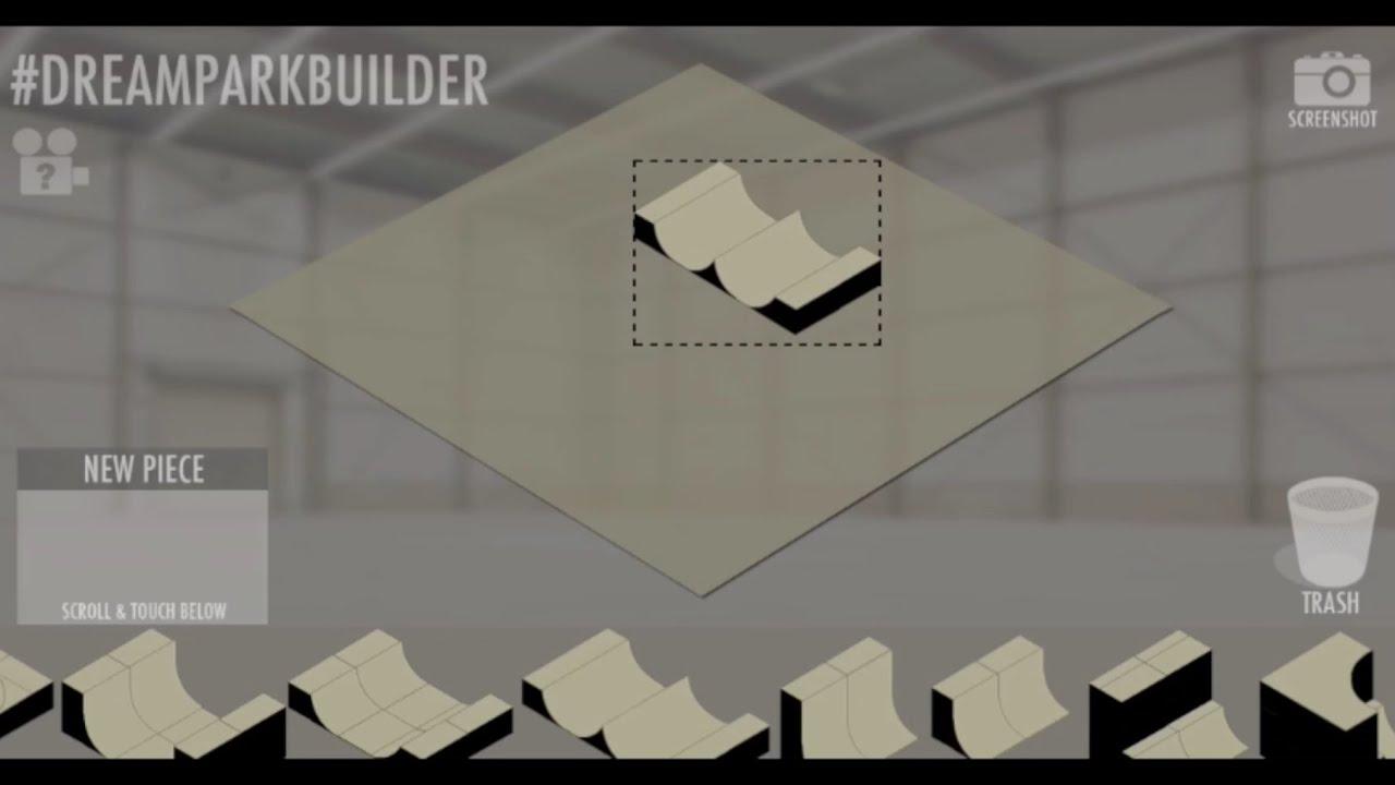 Dream Park Builder - Skatepark Creator & Designer App