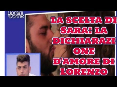 Uomini e donne, la scelta di Sara: la dichiarazione d'amore di Lorenzo  Wind Zuiden