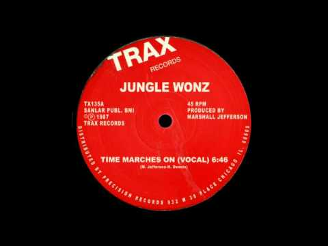 Jungle Wonz - Time Marches On (Vocal)