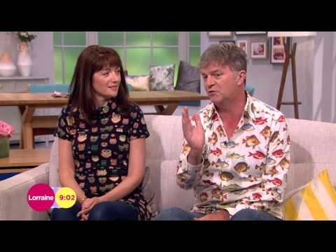 Paul Merton And Wife Suki Webster Talk Impro Chums  Lorraine