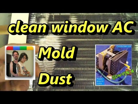 Clean Window Air Conditioner for Best Coolling