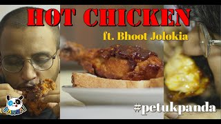 We tried BHOOT JOLOKIA for the FIRST TIME 🥵   NASHVILLE HOT CHICKEN 🍗   Better than KFC?