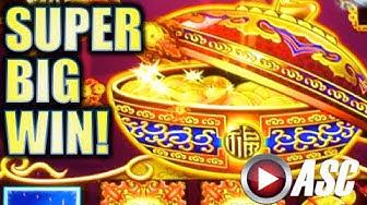 ★SUPER BIG WIN!!★ DANCING DRUMS BE BANGING! AT BARONA CASINO Slot Machine Bonus
