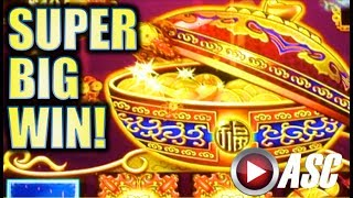 ★SUPER BIG WIN!!★ DANCING DRUMS BE BANGING! AT BARONA CASINO Slot Machine Bonus
