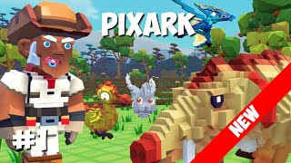 PixARK LP (1) - Замена Майнкрафта и АРК. Загадочный мир.