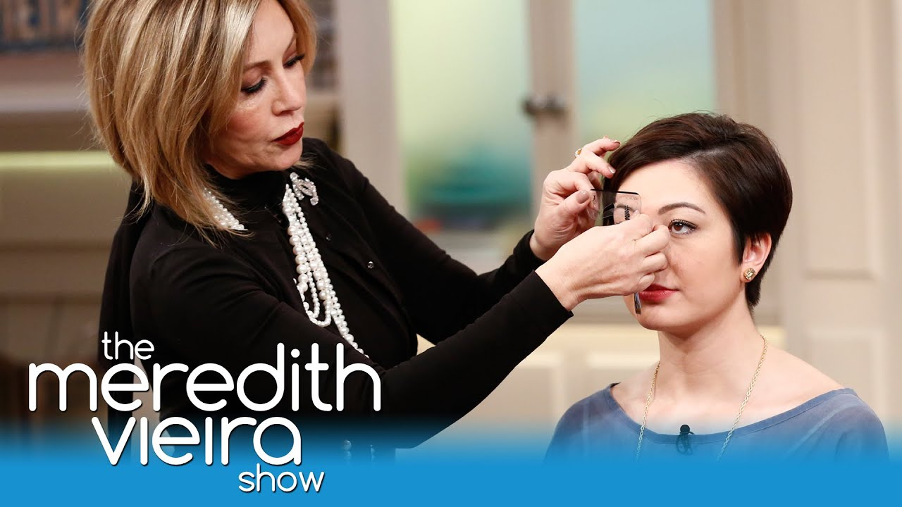 Get The Perfect Brows With Anastasia Soare The Meredith Vieira