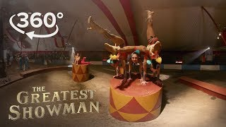 "The Greatest Showman | Behind the Scenes of ""The Greatest Show"" in 360° ft. Hugh Jackman"
