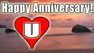 HAPPY ANNIVERSARY E-card video FREE BOLERO romantic LOVE song music / LOVE U E-Cards HD