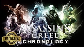 Assassin's Creed Tribute - 10 Years Chronology | AC mixed music