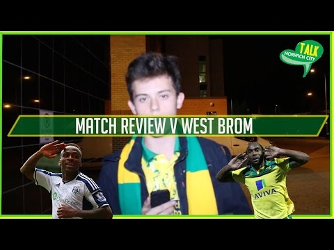 NORWICH 3-0 WEST BROM - MATCH REPORT - GOALS JARVIS LAFFERTY X2