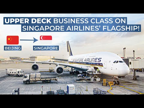 TRIPREPORT | Singapore Airlines (BUSINESS CLASS) | Airbus A380 | Beijing - Singapore