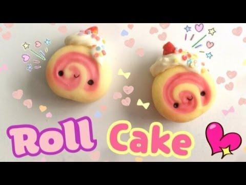 Roll Cake Manualidades Con Porcelana Fr 237 A Arcilla