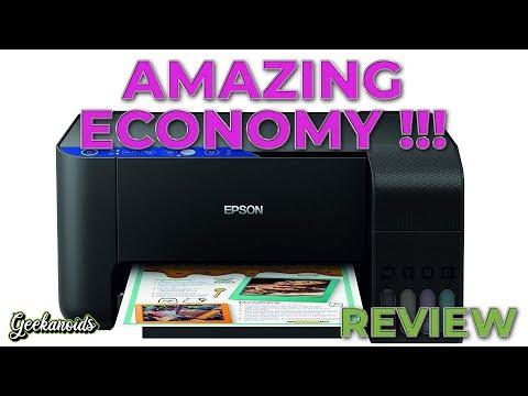 Epson EcoTank ET-2711 Multi-Function Printer Review