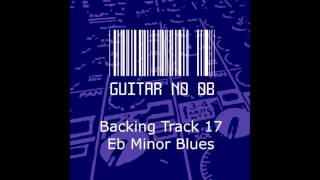 Backing Track 17: Eb Minor Blues