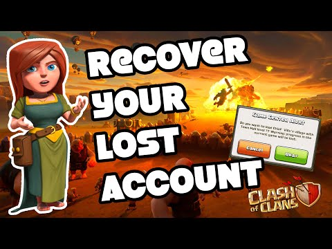 How To Recover Your LOST CLASH OF CLANS ACCOUNT / Village In 2020 || CoC || 100% WORKING In English