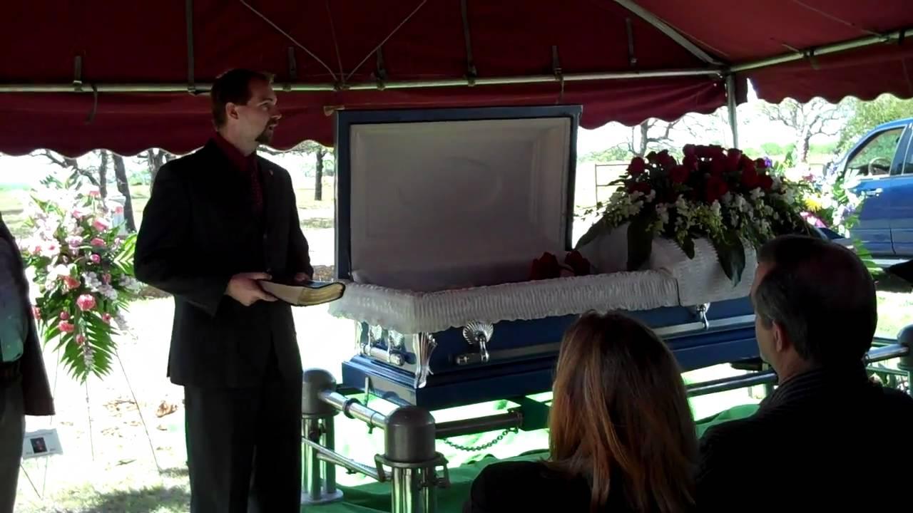 grandma clare u0026 39 s graveside service