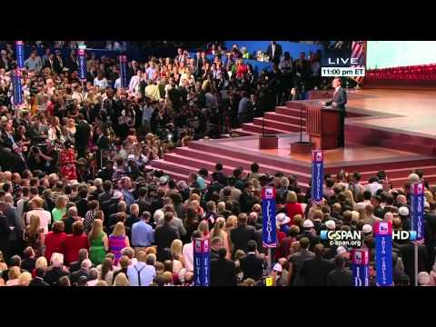 Mitt Romney Acceptance Speech at the Republican National Convention (C-SPAN) - Full Speech