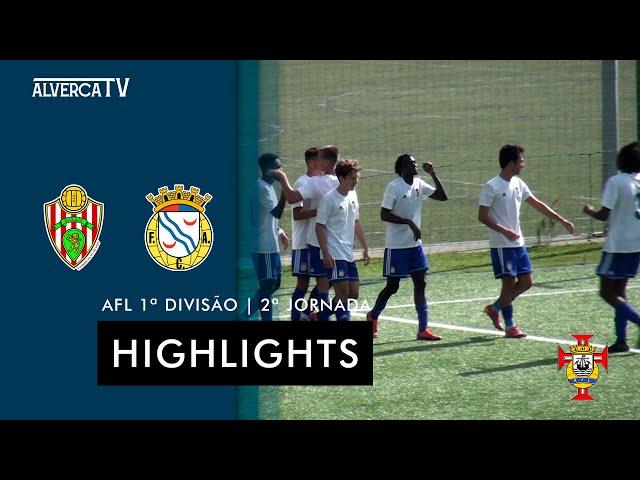 SC Linda-a-Velha 2-4 FC Alverca B | Highlights