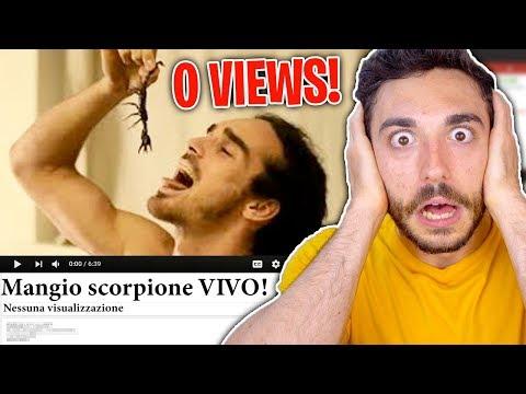 REAGISCO AI VIDEO CON 0 VISUALIZZAZIONI! #2
