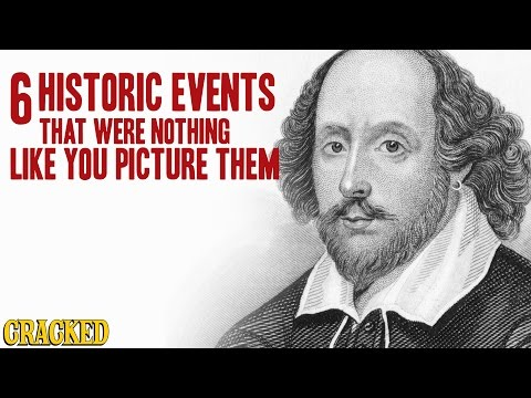 6 Historic Events That Were Nothing Like You Picture Them - The Spit Take