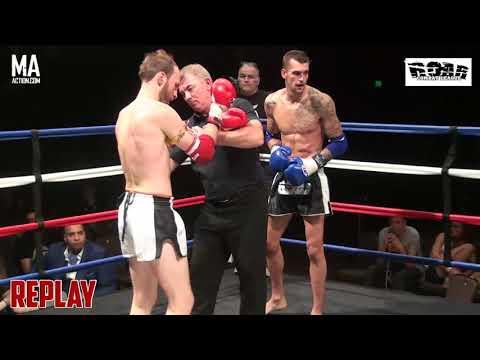 ROAR Combat League 7 - Aaron DENHAM vs Mike BARTON