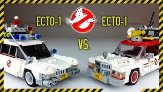 LEGO Ghostbusters Ecto-1 vs. Ecto-1 (21108 vs. 75828) - Review deutsch -