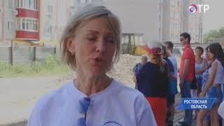 В Аксае Ростовской области на митинг вышли обманутые дольщики