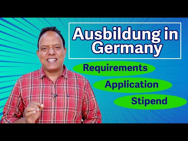 Ausbildung in Germany | Requirements - Application - Stipend | വൊക്കേഷണൽ പഠനങ്ങൾ ജർമ്മനിയിൽ- Part 2