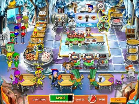 Cooking Dash 3: Thrills And Spills - Expert Mode Level 59 (Collector's Edition Exclusive)